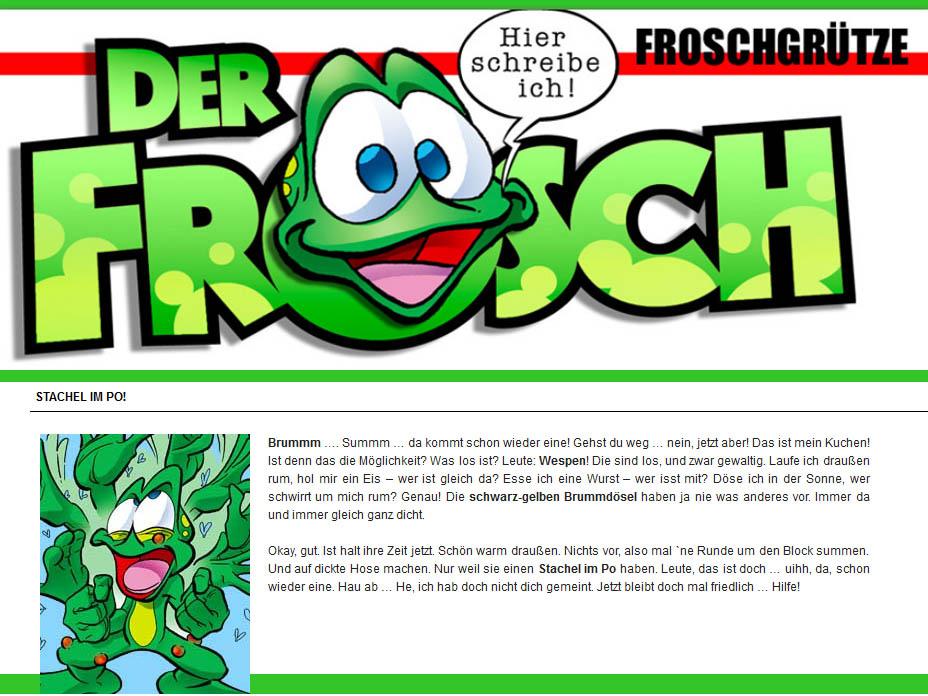 Froschblog Wespenplage