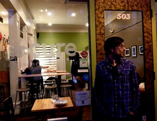 Lesung in Norfolk: Veranstaltungsort Coffeehouse Cure