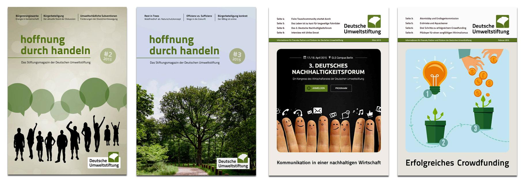 Stiftungsmagazin Deutsche Umweltstiftung