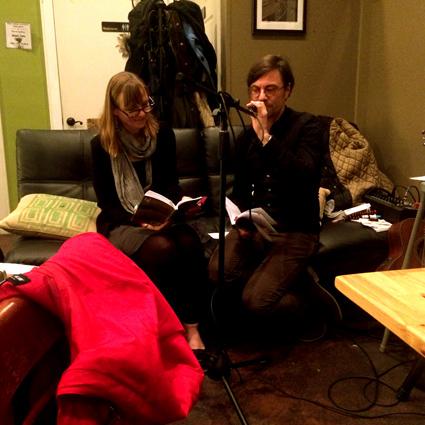 Lesung in Norfolk/Virginia: Susan Wansink und Kai Reininghaus