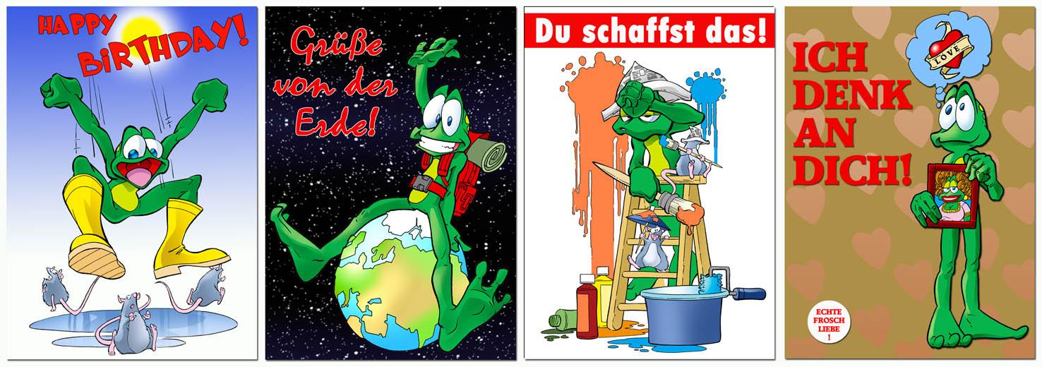 Froschkarten 2012 Teil 1
