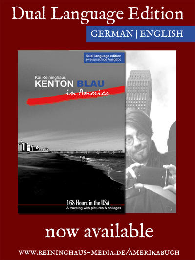Kenton Blau in America by Kai Reininghaus now available