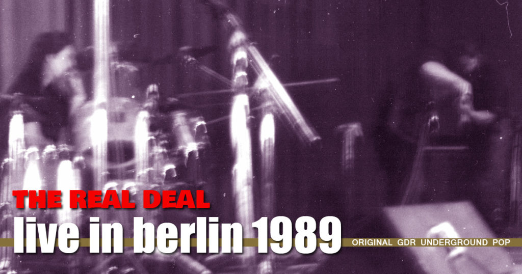 The Real DEal Live in Berlin 1989