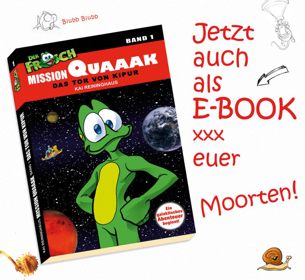 Mission Quaaak - jetzt auch als E-Book erhältlich
