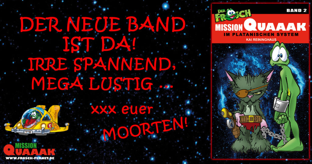 Promotion Band 2 Mission Quaaak (c) Kai Reininghaus
