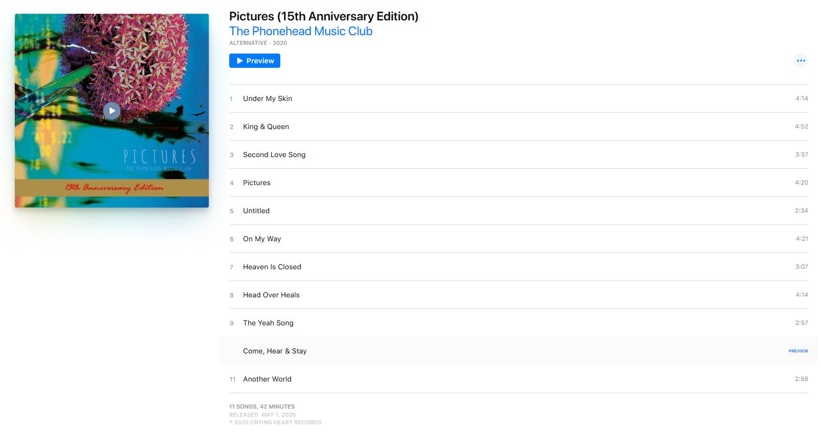 PMC Album Pictures digital
