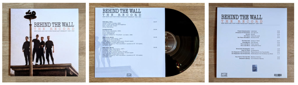 Behind The Wall LP Cover